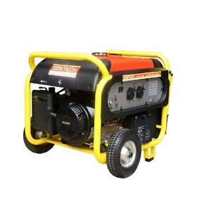 Inverter Generator 7kVA Gentech Portable Power 14HP Kohler Petrol Pure Sine Wave