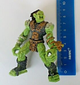 """3,1/"""" Toy Soldier Fantasy Dwarf Angry Gnome Warrior Plastic Action Figure 8 cm"""