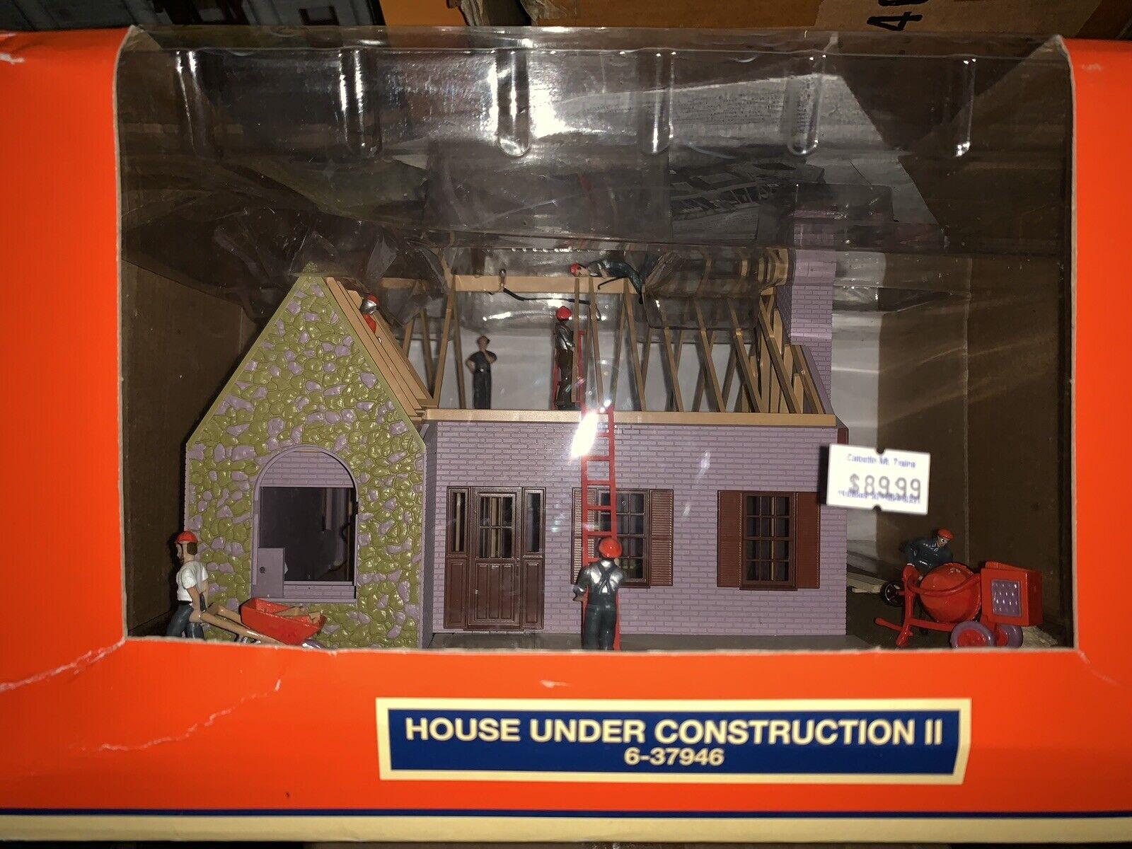 marcas en línea venta barata Lionel detallada casa en en en construcción  2 nuevo accesorio se ajusta MTH Iluminado  buena calidad