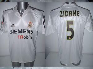 low priced cef6c fa729 Real Madrid ZIDANE Adidas Adult XL France Shirt Jersey ...