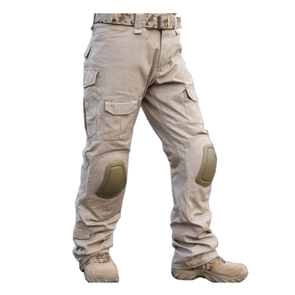 Emerson Gen2 Combat Pants with Knee Pads Tactical Military Army  Airsoft BDU TAN  fast shipping worldwide
