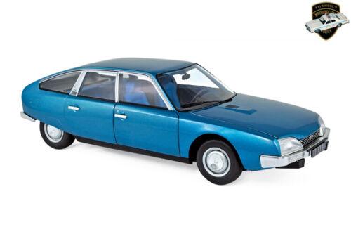 1//18 NOREV 181523 Voiture Bleu métallique delta blue CITROËN CX 2000 1974