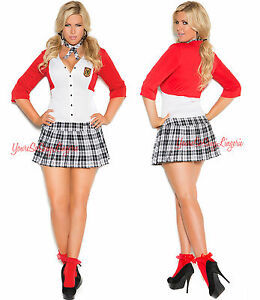 Plus size sexy school girl costumes galleries 142