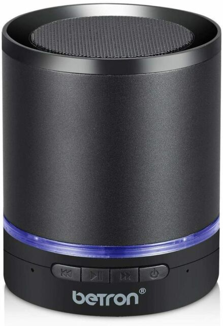 Portable Wireless Bluetooth Speaker Betron A3 Built In Mic and Remote Heavy Bass