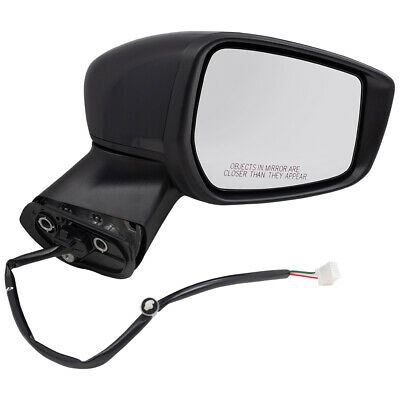 Side Mirror GLASS for 15-18 Nissan Versa NI1320257 Power Driver Left