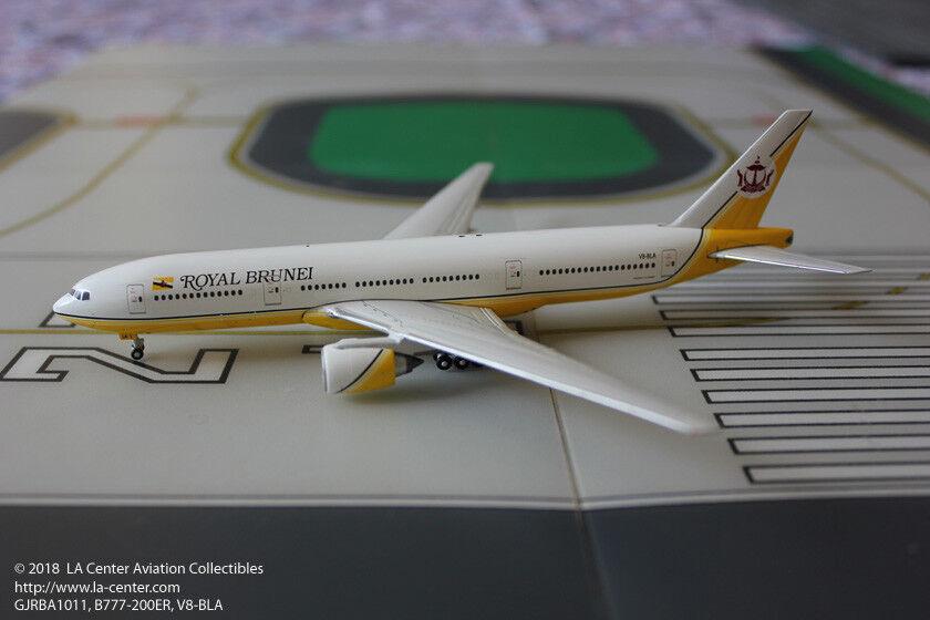 100% autentico Gemini Jets Royal Brunei Boeing 777-200 en 1 400 400 400 Modelo Diecast Color Antiguo  mejor calidad mejor precio