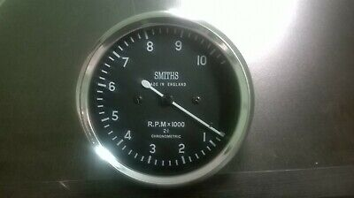 Smiths Tachometer 80 mm fitment M18x1.5 thread Replica 10 K