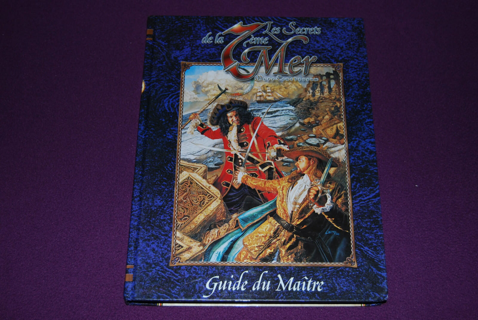 SECRETS DE LA 7EME MER   7TH SEA JDR Jeu de Role - Guide du Maître 1ère Ed. Rev.
