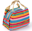 Thermal-Portable-Insulated-Cold-Canvas-Stripe-Picnic-Tote-Carry-Case-Lunch-Bag thumbnail 14