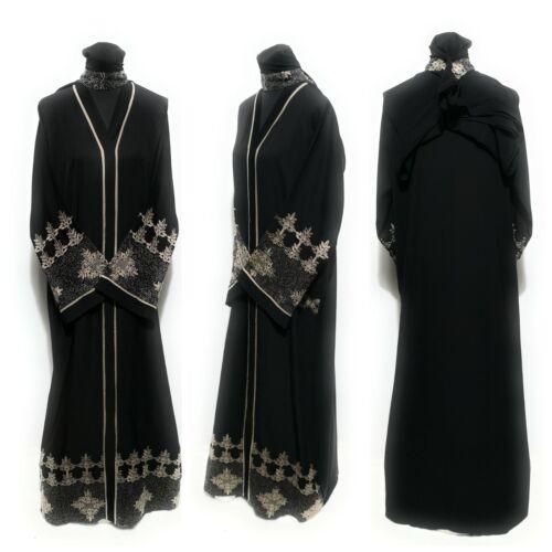 Les femmes fermée devant robe Arabie longue abaya farasha Jilbab Burka kacaftan
