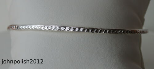 Simple Sterling Silver 925 Bangle