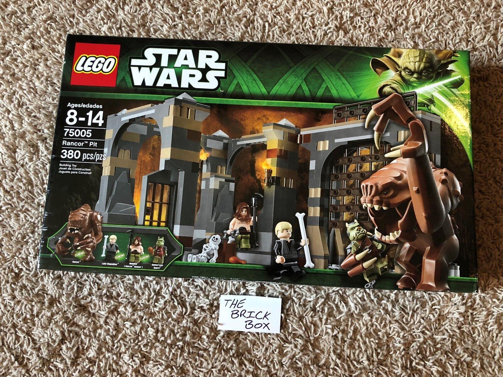 LEGO STAR WARS 75005 RANCOR PIT - NEW & SEALED - RETIROT SET - FREE SHIPPING