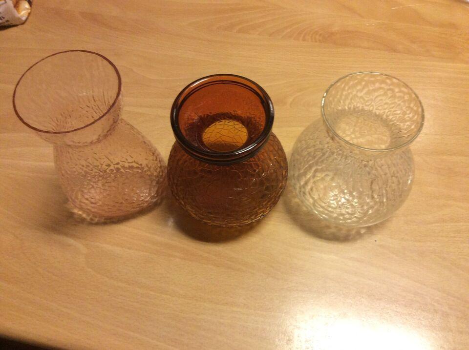 Glas, Hyacint vaser, Holmegaard