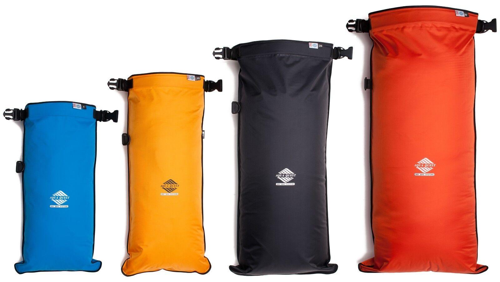 Aqua Quest Coastal Sunset - Waterproof Dry Bag Combo - 5L, 10L, 20L, & 30L Set