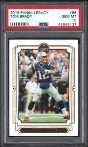 2019 Panini Legacy #68 TOM BRADY Patriots PSA 10 Gem Mint