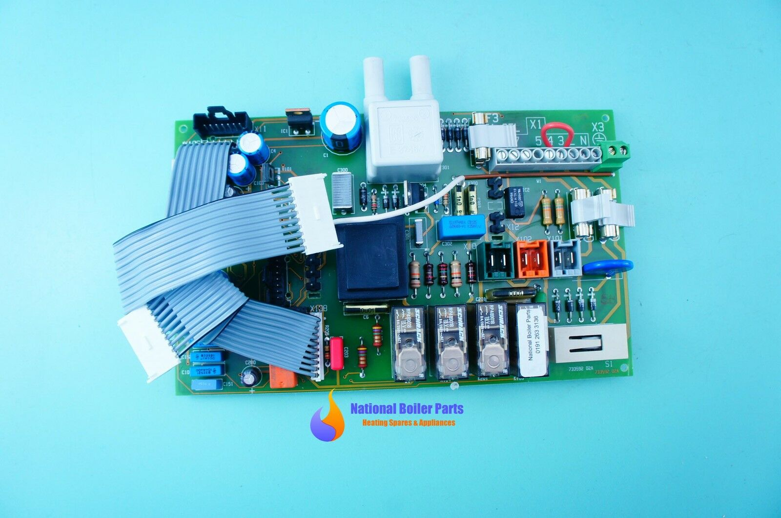 Vaillant Turbomax Vuw 242e 282e Main Pcb 130391 Ebay Printed Circuit Board 1 Fuse 5 Wire S900817