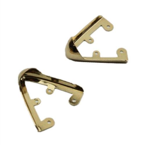 2//4 un Zapato de mujer de metal cabeza puntera en punta Cap Cubierta Protector Decoración de reparación de bricolaje