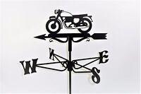 Vintage Motorrad Metall Windfahne