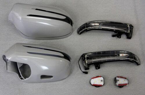 Carcasas espejo intermitentes de LED para mercedes w209 CLK sin pintar