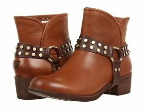5cdf5962f45 Details about Women's Shoes UGG Australia Darling Harness Ankle Boots  1006683 Whiskey Size 5.5