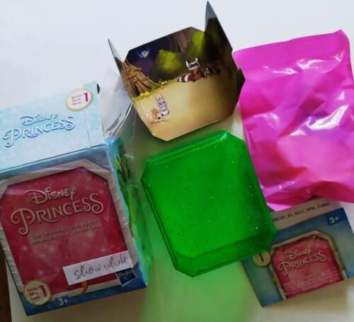DISNEY PRINCESS GEM COLLECTION série 1 /& 2 /& 3 ROYAL histoires TIARA SURPRISE Box