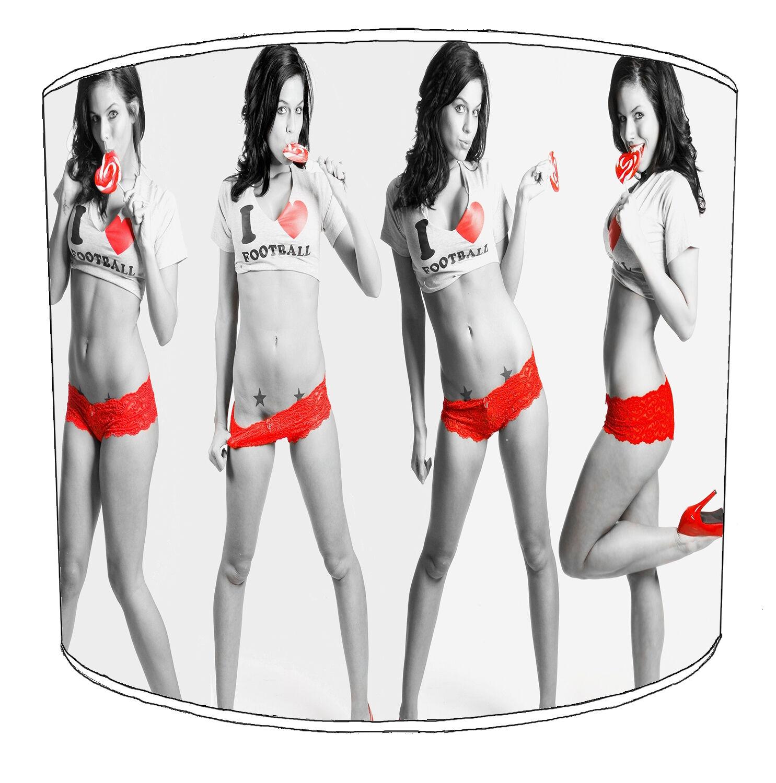 Adulti Sexy Donna Football Designs paralumi Man Man Man Grossota, Pin Up Ragazze Lightshades | Ha una lunga reputazione  | I più venduti in tutto il mondo  | Costi medi  | una vasta gamma di prodotti  | Qualità Affidabile  | I Materiali Superiori  | Bella E a7b366
