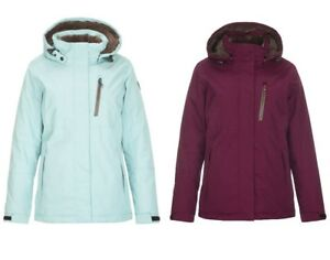 Details about Women's KILLTEC Nira Insulated Ski Jacket Winter Snow Coat w Zip Off Hood NEW