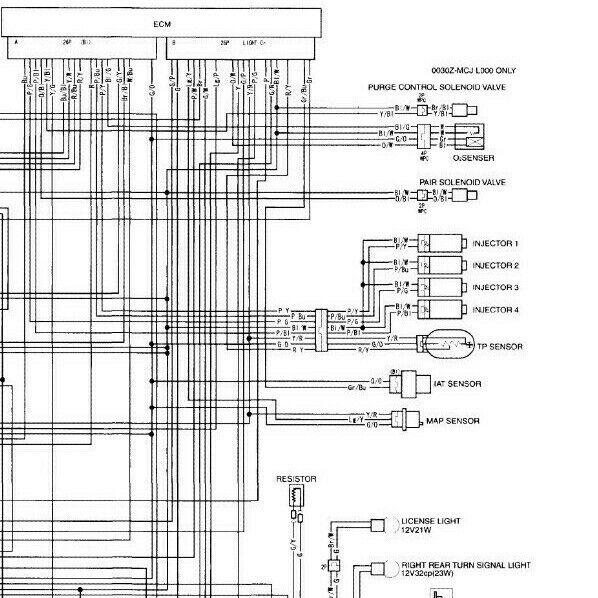 Honda Cbr954 Rr Wiring Diagram Schematic Pdf