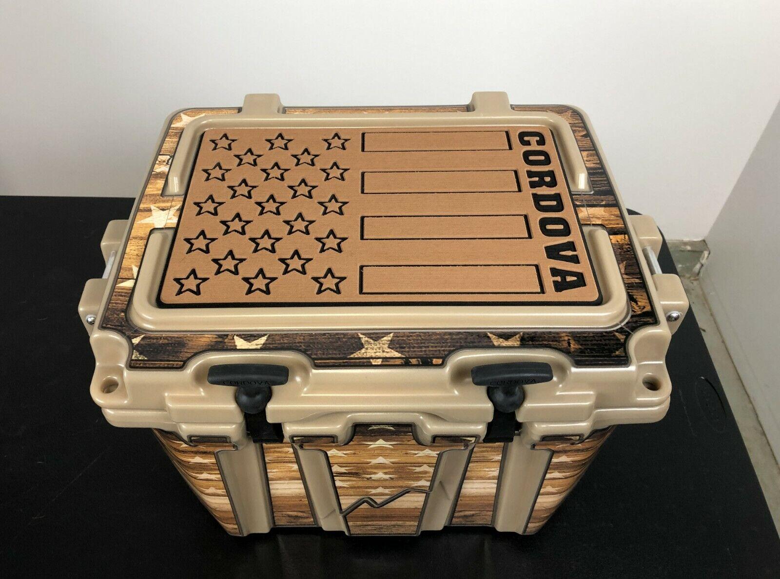 USATuff Cooler Pad for for for YETI 45qt - SeaDek Marine EVA Mat - G B - Top Fin 01385b