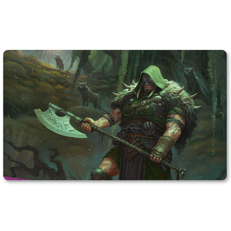 GARRUK,CURSED HUNTSMAN - Board Game MTG Playmat Games M