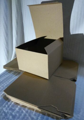 Cardboard Gift Boxes 6x6x4 Lot Of 10 GB01