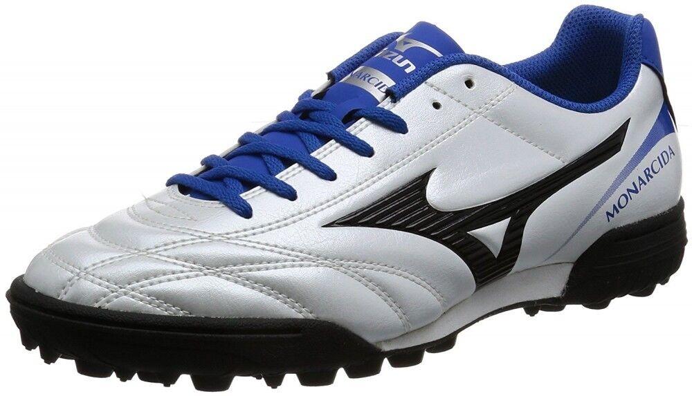 Zapatos de fútbol de Mizuno monarcida 2 sola tejido como P1GD1722 súper blancoo Perla X Negro Azul x
