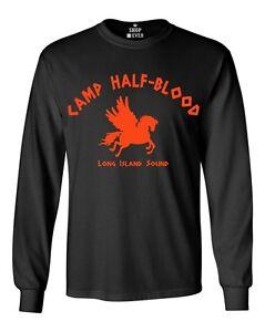 Camp Half Blood Orange Youth/'s T-Shirt Cool Demigods Long Island Shirts