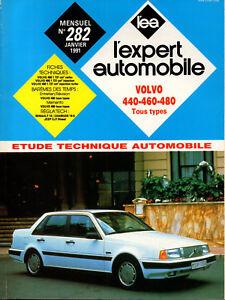Rta Revue Technique Automobile N° 282 Volvo 440 460 480 Essence Diesel Forte RéSistance à La Chaleur Et à L'Usure
