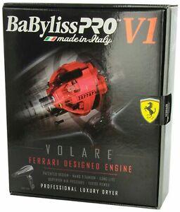 BABFV1-BABYLISS-PRO-NANO-TITANIUM-VOLARE-V1-HAIR-BLOW-DRYER-FERRARI-ENGINE-BLACK