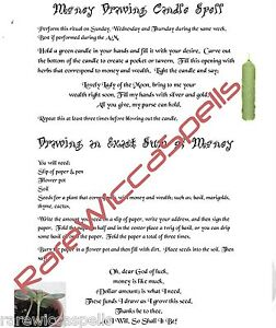 Draw-Exact-Sum-Money-Drawing-Candle-Spell-Ritual-for-Wicca-Book-of-Shadows