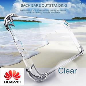 360 ° a Prueba de Choques TPU de silicona suave transparente Funda Cubierta Para Huawei P10/Honor 8 Lite