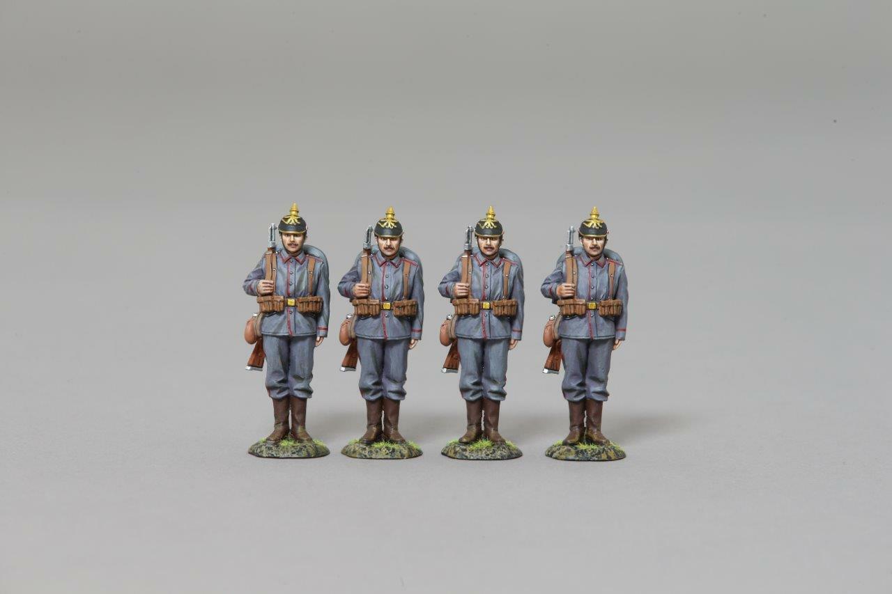 THOMAS GUNN GW076E Tyska infanteriset (4 siffror)