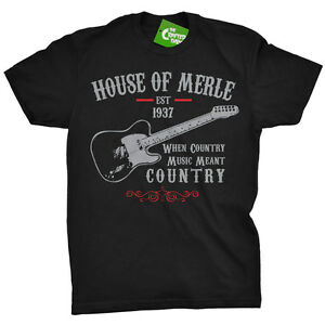 image is loading merle haggard shirt house of merle country music