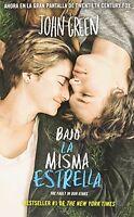 Bajo La Misma Estrella (the Fault In Our Stars) (spanish Edition) on sale