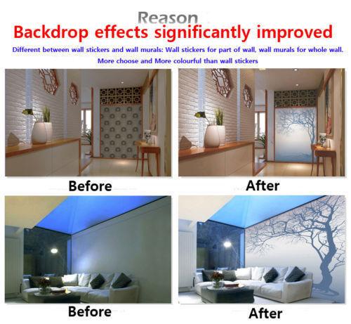 3D MICROFONO Adesivi Murali Parete Parete Parete in Vinile Murales stampa Decalcomania ajstore UK Limone b05c0e