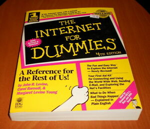 The-Internet-For-Dummies-4th-Edition-1997-IDG-Books-Super-Fast-Shipping