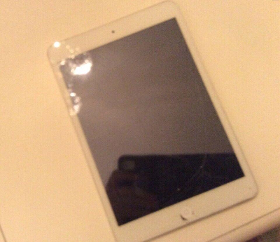 iPad mini 2, 16 GB, hvid