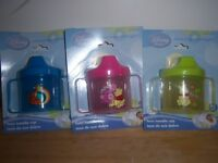 Disney Winnie The Pooh Twin Handle Sippy Cup, Tigger, Baby Shower, Diaper Cake