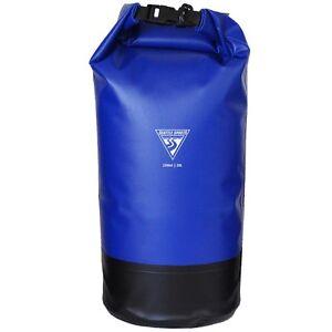 Details About Seattle Sports Explorer Dry Bag 20l Blue Outdoor Heavy Duty Waterproof