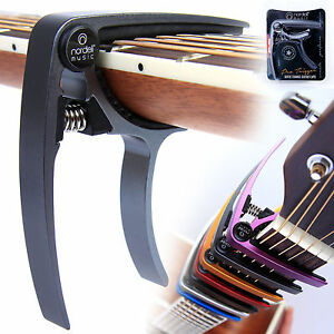 Premium-Guitar-Capo-Nordell-039-Quick-Change-039-Trigger-Clamp-for-Acoustic-Electric