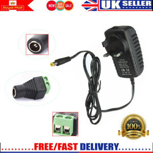 DC-12V-2A-3A-Power-Supply-Adapter-Charger-Transformer-for-3528-5050-LED-Strip-UK