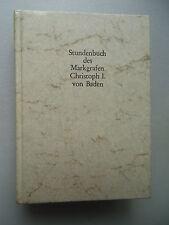 Stundenbuch des Markgrafen Christoph I. von Baden 1978 Codex Durlach I Kommentar