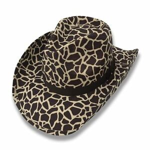 e76a712a51 Image is loading Cowboy-Cowgirl-Hat-Cheetah-Leopard-Rodeo-Western-One-