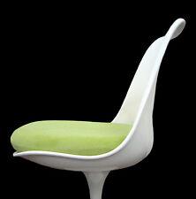 Slip-On CUSHION COVER for Saarinen or Burke TULIP SIDE CHAIR (Lime)